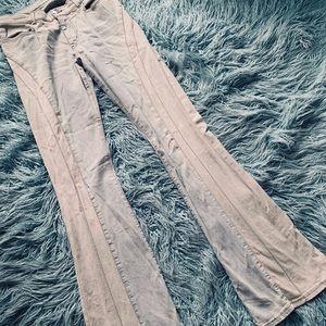 Miss Sixty Flare Leg Retro Bell Bottom Jeans